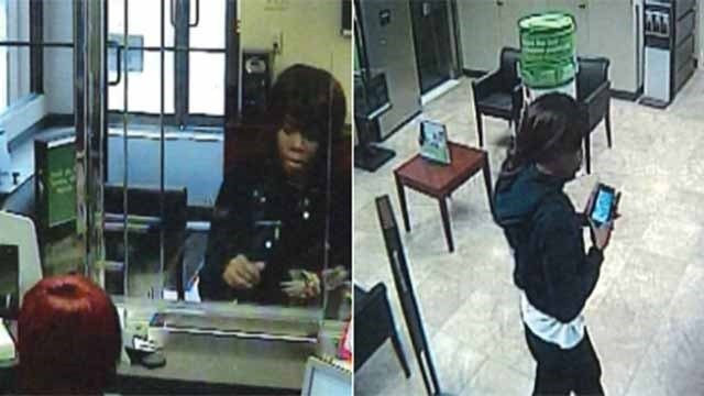 Police are searching for a woman who robbed a Regions bank in South City. (Credit: St. Louis Metropolitan Police Department)