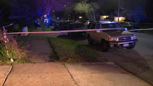 Shooting in the 4200 block of West Maffitt in St. Louis' The Ville neighborhood. (KMOV)