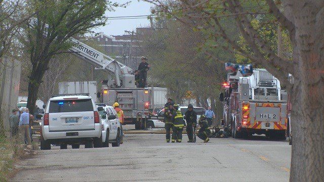 Fire crews on scene of a deadly explosion in Soulard (KMOV)