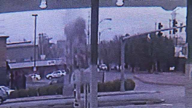 A boiler-plate explosion in Soulard was captured on surveillance camera at a nearby BP gas station. Credit: BP