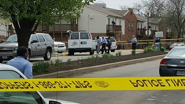 Shooting in North St. Louis (KMOV)