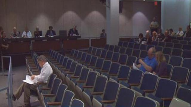 The St. Louis County Council vote (Credit: KMOV)