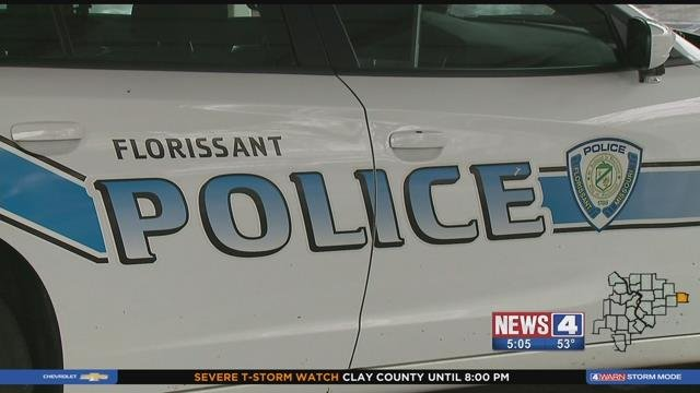 Florissant police. Credit: KMOV