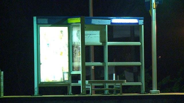 The UMSL South MetroLink station (Credit: KMOV)