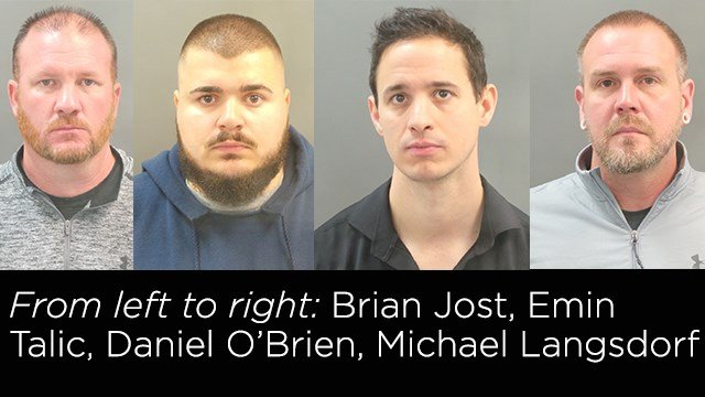Four SLMPD officers have ben charged for stealing taxpayer money.