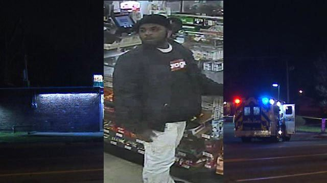 Police are looking to identify a person of interest in a homicide outside a North County 7-Eleven (KMOV)