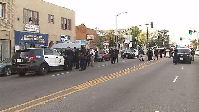 San Bernardino School Shooting Leaves 2 Adults Dead, 2 Children Injured