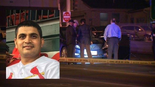 Maulik Patel was shot & killed on January 11, 2017 on Goodfellow at I-70 (Credit: CrimeStoppers / KMOV)