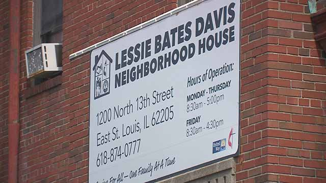 Some programs offered by the Lessie Bates Davis Neighborhood House in East St. Louis could end if the Illinois budget standoff continues. Credit: KMOV