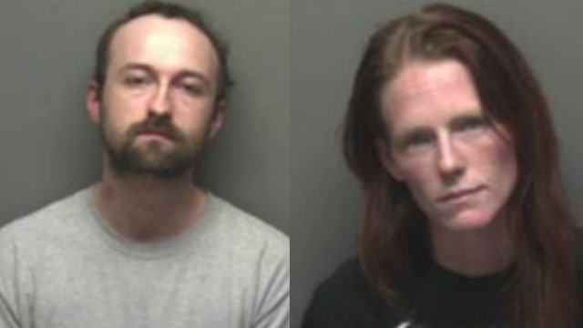 John Handcastle and Miranda Everhart. (Photo credit: Franklin County Sheriff's Office)