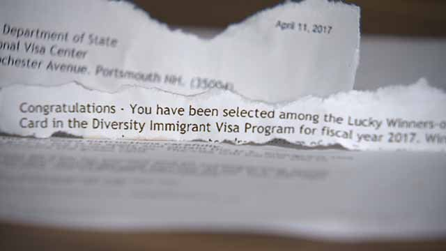 Some are warning of an email scam targeting immigrants inside the US. Credit: KMOV