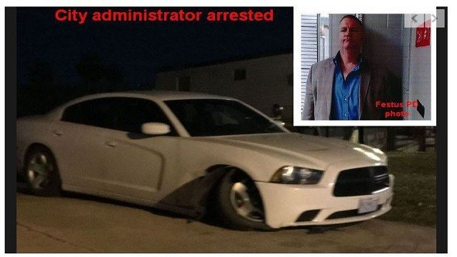 In February, Whitwell was charged with a DWI and leaving the scene of an accident in Festus. (Credit: Daily Journal)