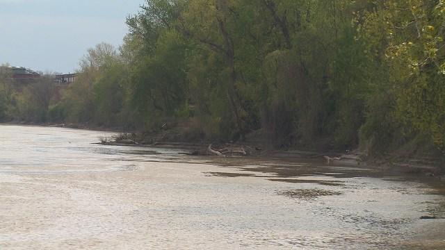 The Missouri River (Credit: KMOV)