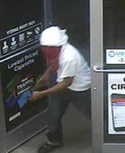 Investigation underway for three suspects who robbed three Metro East gas stations. (Credit: Troy Police Department)
