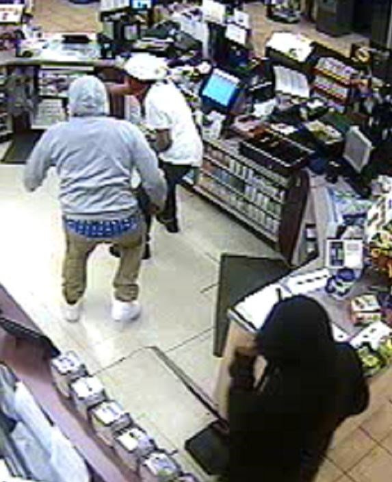Police said three men robbed multiple gas stations in the Metro East on Saturday. (Credit: Troy Police Department)