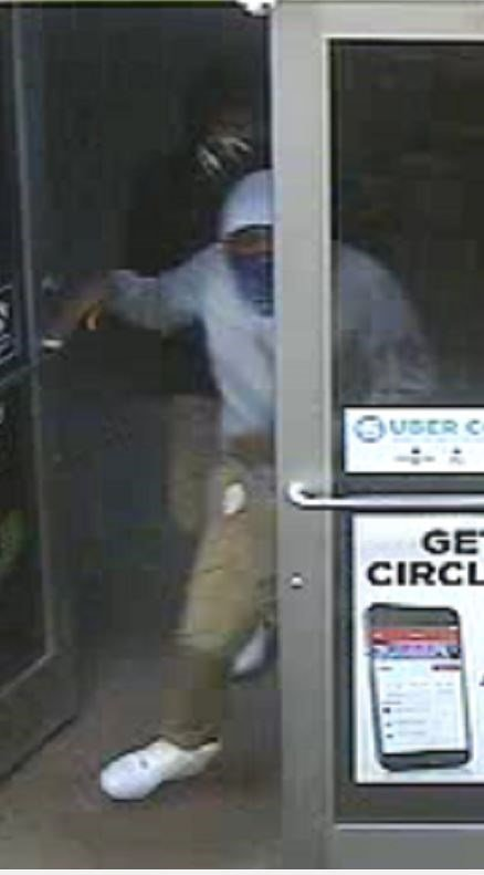 Police said three gas station were robbed at gunpoint on Saturday. (Credit: Troy Police Department)