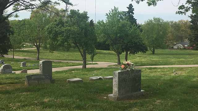 A developer plans to turn 7.7 acres on the property of Our Redeemer Cemetery into a new subdivision in Affton. Credit: KMOV