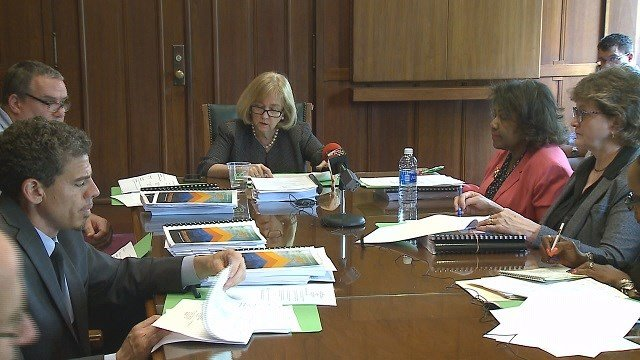 Mayor Lyda Krewson wasted no time voicing her 2018 budget priorities. (Credit: KMOV)