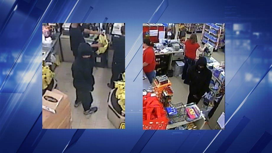 The suspect who robbed the Dollar General in Belleville, Ill. (Credit: Belleville Police Department)