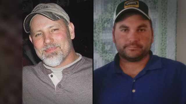 William Froelich and Alex Boscher were shot and killed while working for Laclede Gas in the Hamilton Heights neighborhood Thursday. Credit: KMOV