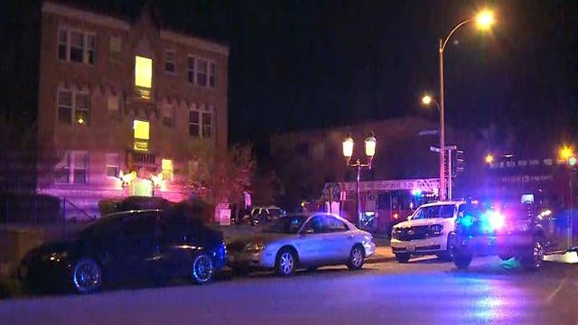 A man was shot at an apartment complex in the 4300 block of West Pine Monday (Credit: KMOV)