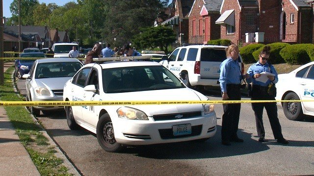 A man was shot and killed in the 5900 block of Ferris Avenue Sunday afternoon. (KMOV)