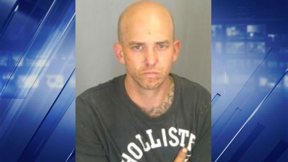 Joshua Napoli is accused of stealing thousands from storage units. (Credit: St. Louis County Police)