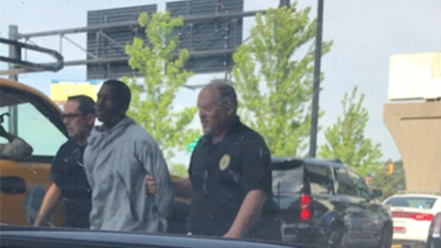 Person in custody following crash at St. Louis Lambert Airport (Credit: Dr. Robert Christine Prince, Effingham, Illinois)