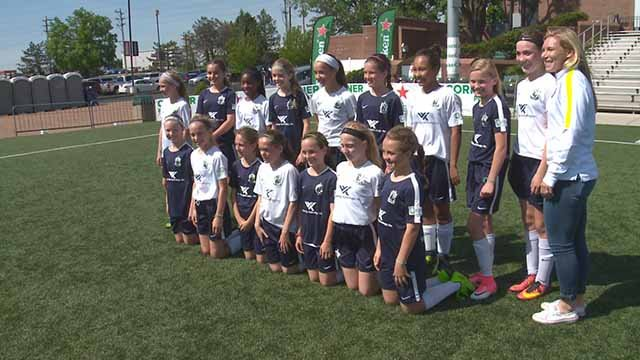 Two St. Louis area girls are going to Russia for the Friendship Tournament. Credit: KMOV