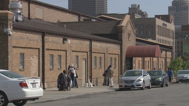 A new homeless shelter just north of downtown St. Louis is causing big concerns for a predominantly black community. (Credit: KMOV)