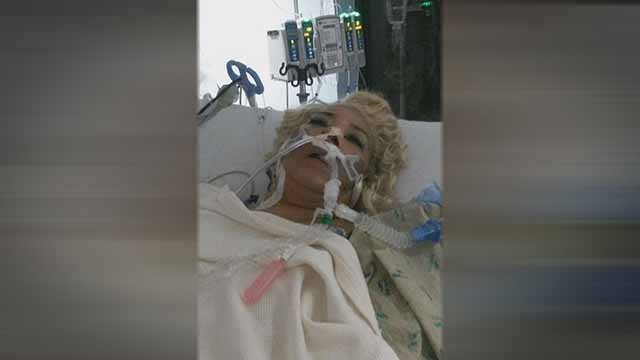 Larhonda Jonhson's' mother Ida was hit by a stray bullet while she was at a friend's house. Credit: KMOV