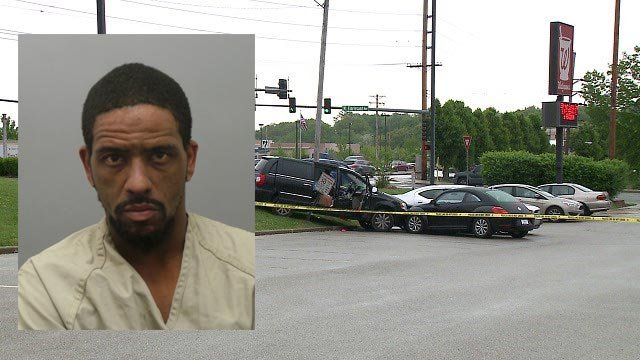 William Alexander, 37, of the 1800 block of Don Donna Drive,  is accused of shooting a man and woman in north St. Louis County Wednesday (Credit: Police / KMOV)