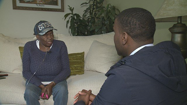 Florissant flood victim is frustrated over expensive repairs to flooded basement. (Credit:KMOV)