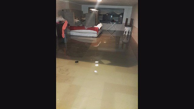 Flooded home in Florissant cost more than $18,000 to repair, said Boyer. (Credit: Antoinette Boyer)