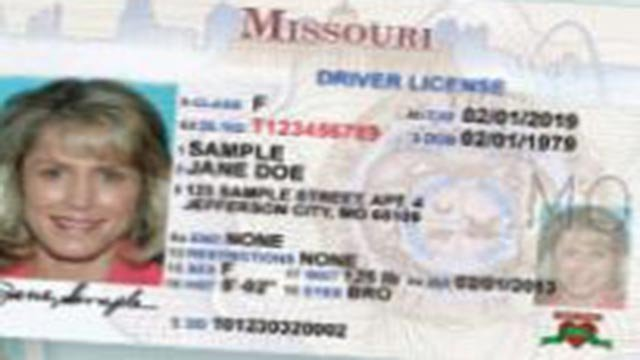 (Credit: Missouri DMV)