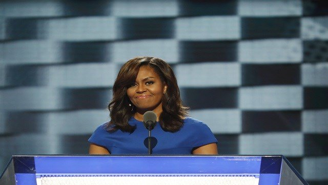 Former first lady and workout guru Michelle Obama was herself in camp SoulCycle during her time in the White House, and was often spotted by star-struck Washingtonians coming and going from class. (Credit: Adam Rose/CNN)