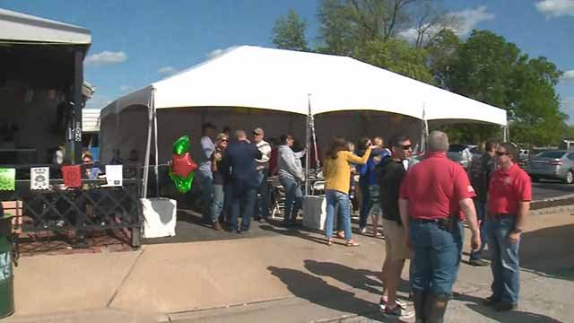 Many Eureka residents attended a Cinco De Mayo celebration relieved the recent flood damage was not as bad as December 2015. Credit: KMOV