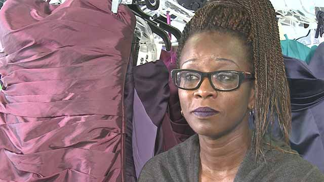honors late granddaughter by donating prom dresses, tuxedos. Credit: KMOV