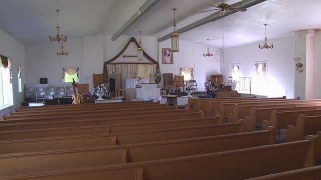 For years, there has never been any trouble at the church, but last year there was also a break-in. (Credit: KMOV)