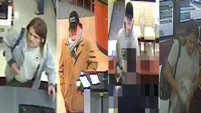 The FBI, Creve Coeur Police & Richmond Heights Police are asking for help identifying the suspect (Credit: Police)
