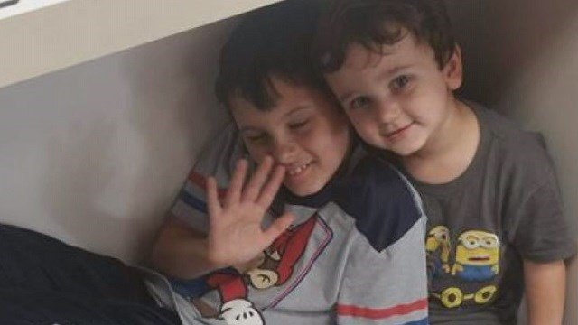 Nine-year-old Caleb Lee died from his injuries, and his 5-year-old brother and their mother are still in the hospital recovering. (Credit: Lee family)