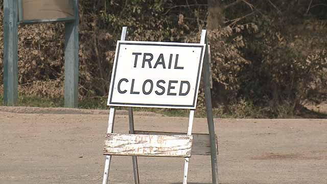 Vance Trails Park in Valley Park is closed due to a sewage spill. Credit: KMOV