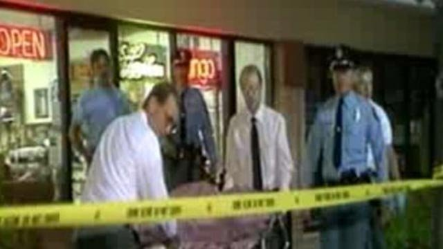 Image from outside the store where Nancy Kitzmille was found with a fatal gunshot wound in 1992 (Credit: KMOV)