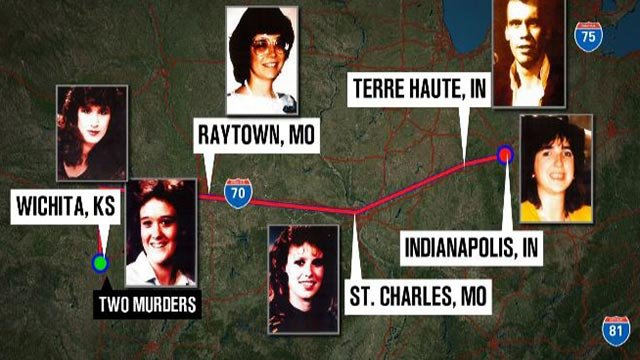 Victims believed to be connected to the 'I-70 Killer' (Credit: KMOV)