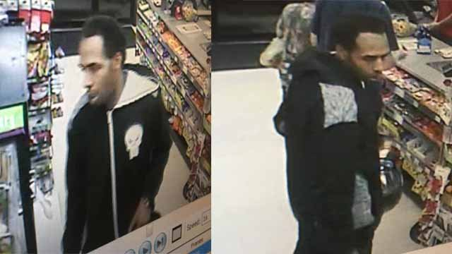 Police believe this man robbed a Circle K and liquor store in South County Thursday morning. Credit: St. Louis County PD