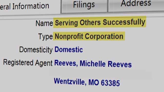 The head of Serving Others Sucessfully held a fundraiser for someone fighting cancer but allegedly never turned over the money. Credit: KMOV