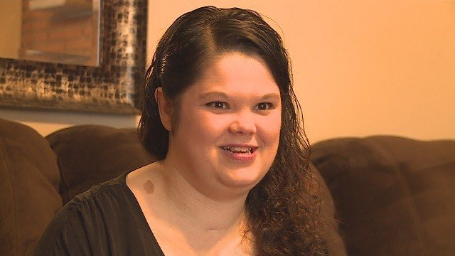 Michele Melvin never thought she'd become a mother due to having a heart condition. (Credit: KMOV)