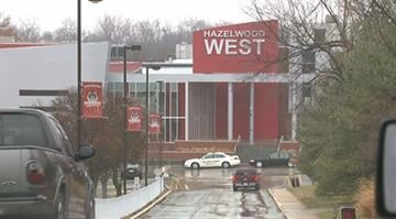Hazelwood West High School. (Credit: KMOV)