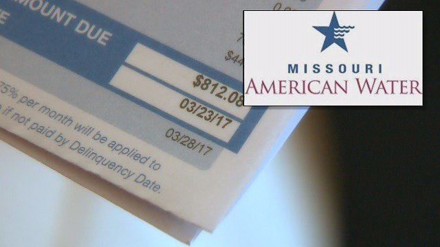 A Hazelwood woman says her $812 sewer bill is out of line. (Credit: KMOV)
