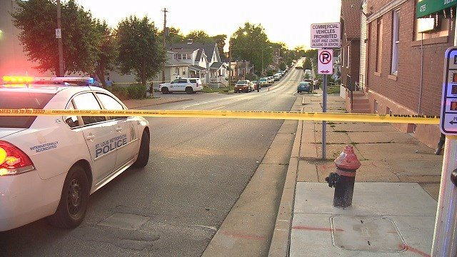 Double shooting near Bevo Mill in South St. Louis  (Credit: KMOV)